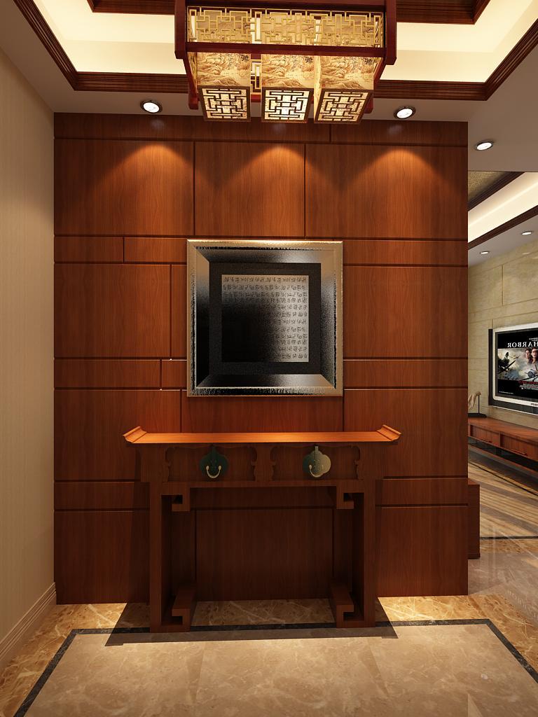 中式古典风格_装修案例图_天津装修之家装修效果图图片