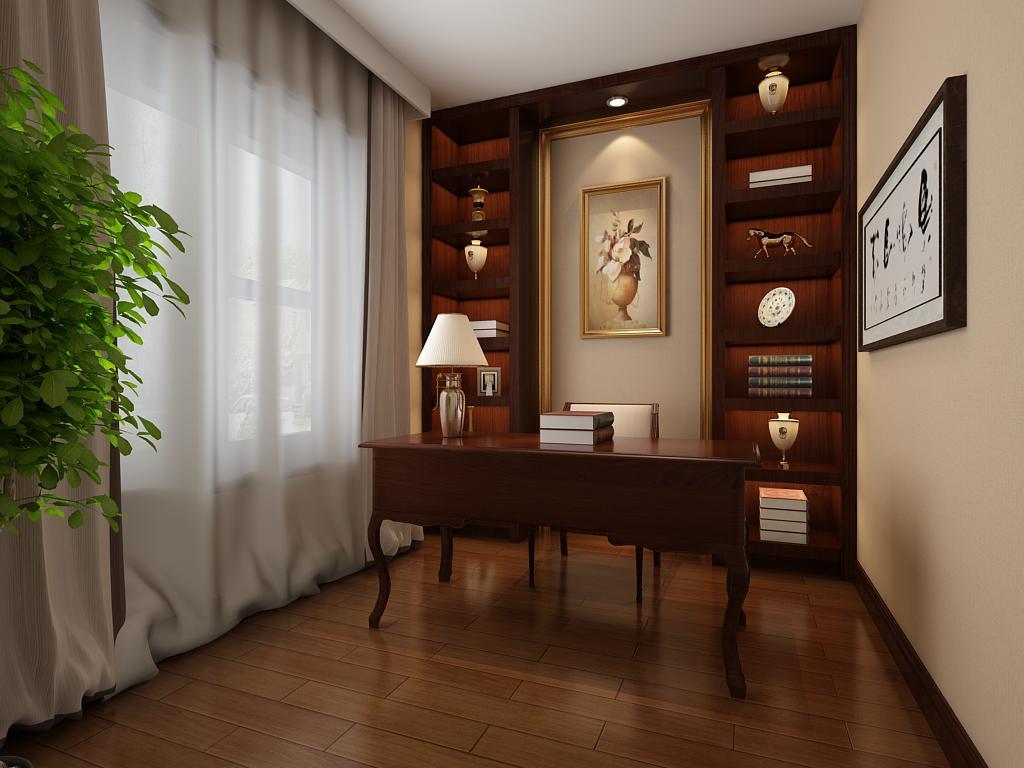 新中式风格是以宫廷建筑为代表的中国古典建筑的室内装饰设计艺术风格