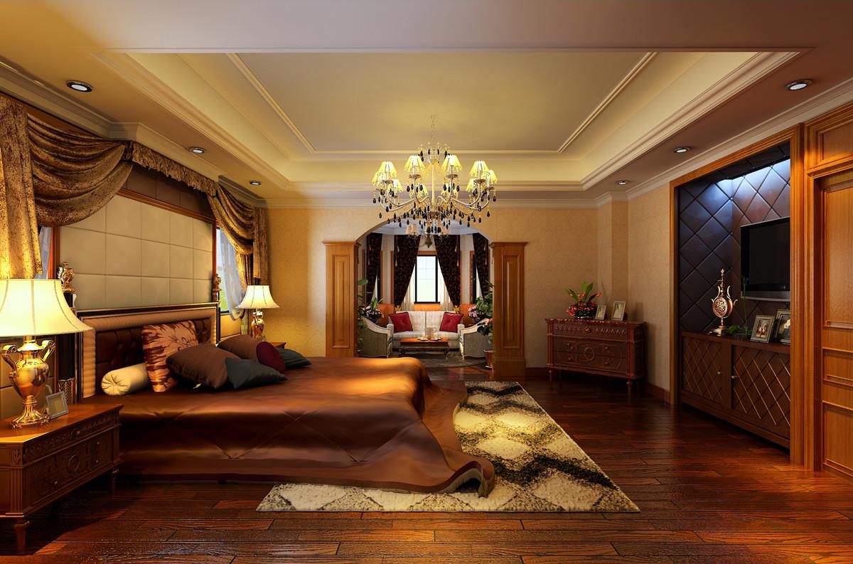 昌平别墅欧式古典风格500平米