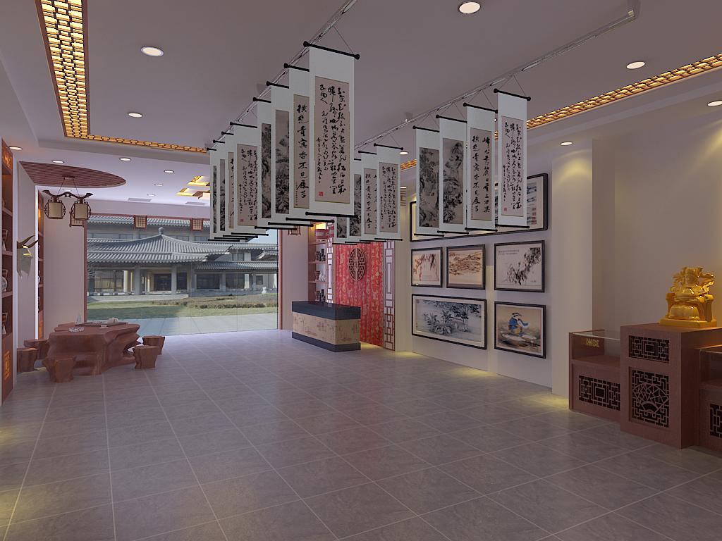 中式画廊_装修之家装修效果图