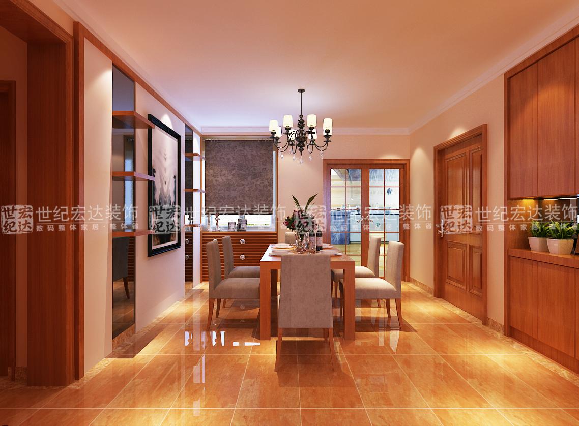 木地板影视墙装修效果图