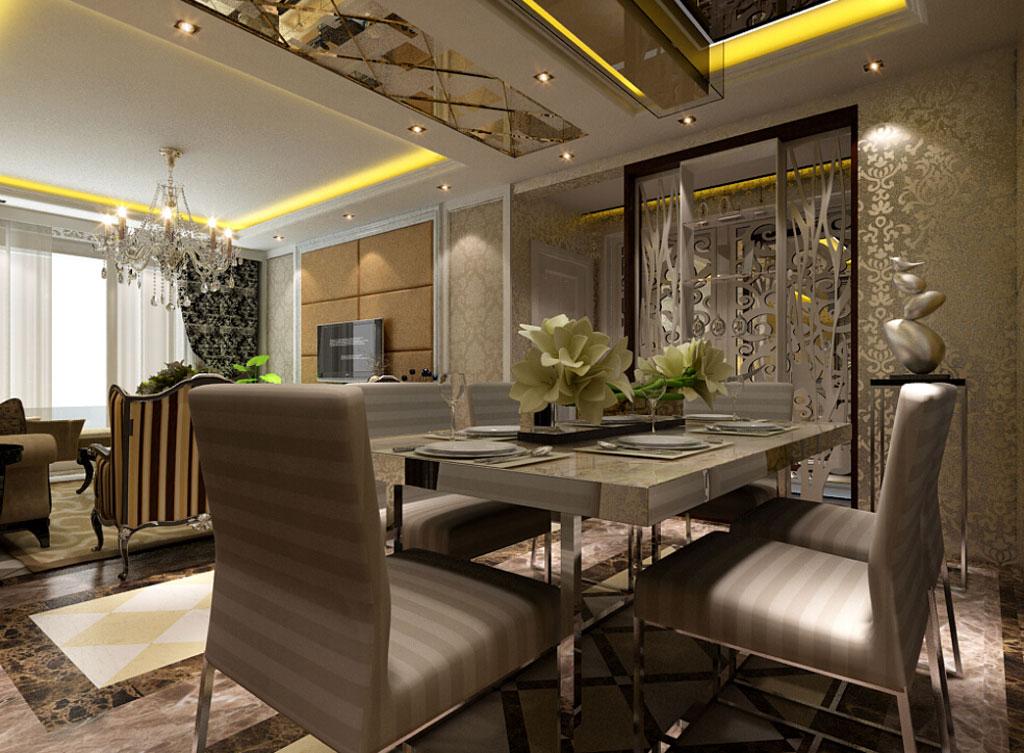 简欧风格 简约欧式风格沿袭古典欧式风格的主元素,融入了现代的生活