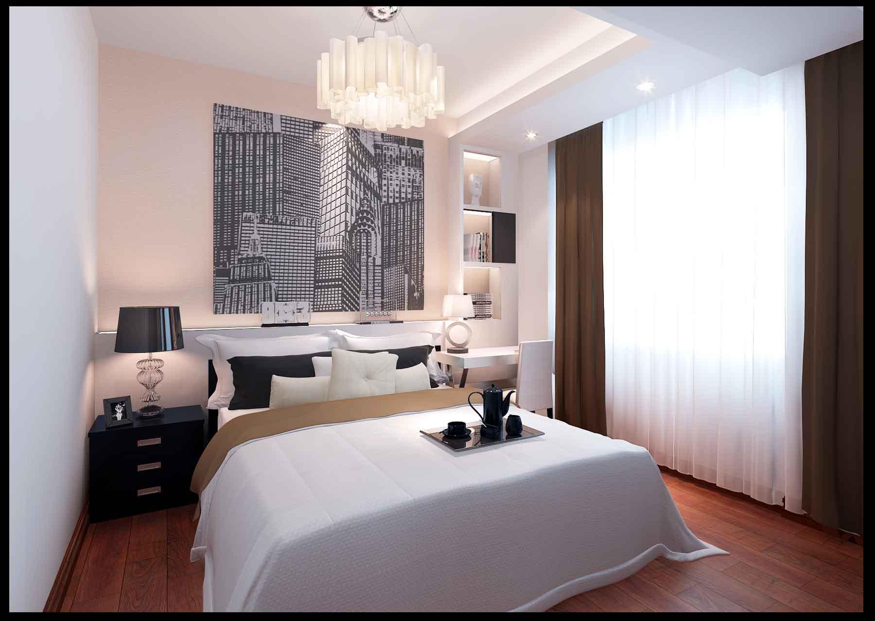 房间贴砖装修效果图