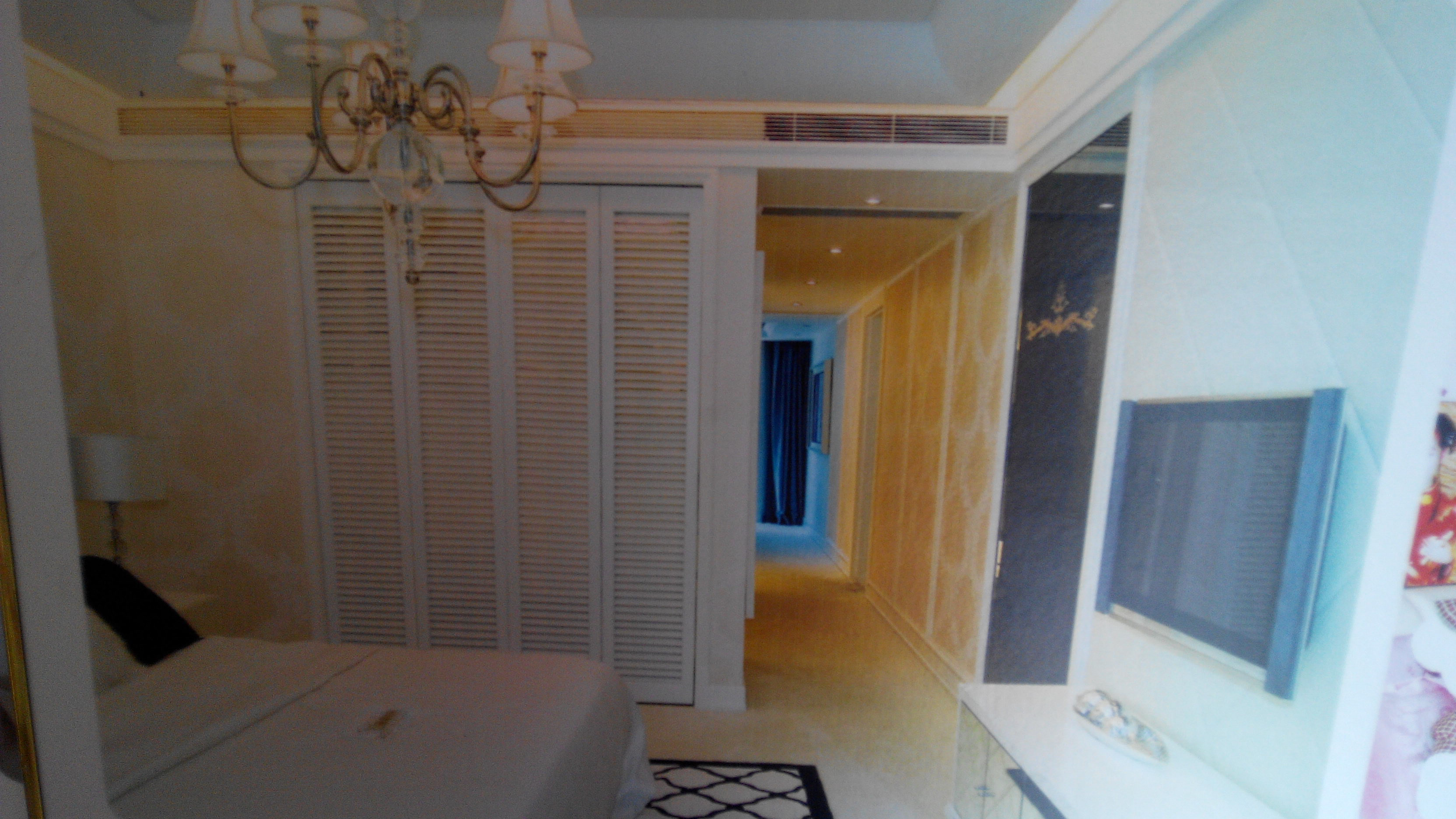 卧室家庭中央空调效果图