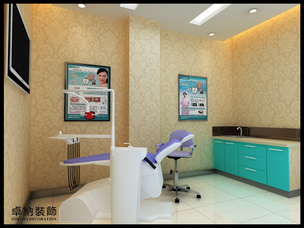 口腔室内广告图片