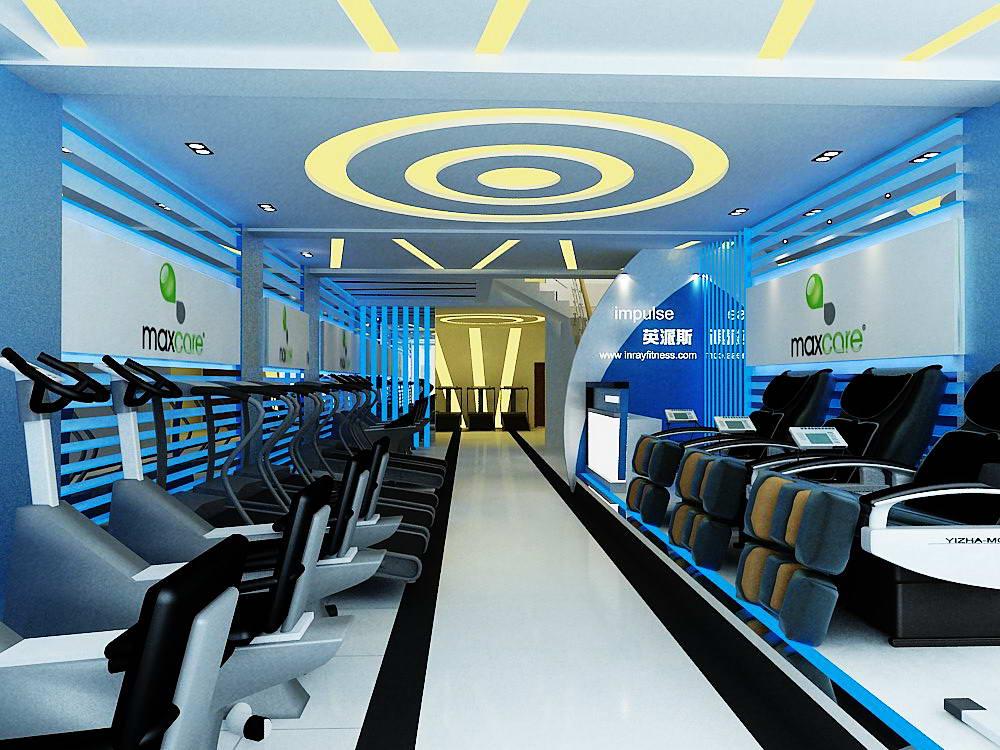 健身器材店_英派斯健身器材专卖店200平米