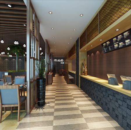 中式风格面馆设计