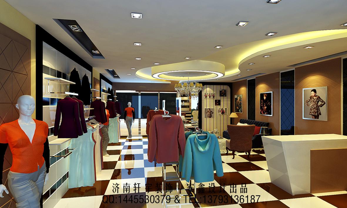 时尚服装店装修