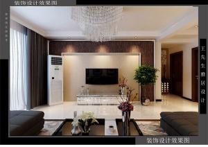 天海誉天下139平三室两厅装修效果图