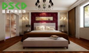 青洲豪庭131平米简约三居室效果图——4