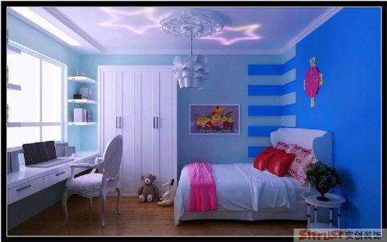 优质欧式三口之家,适合儿童色彩的儿童房