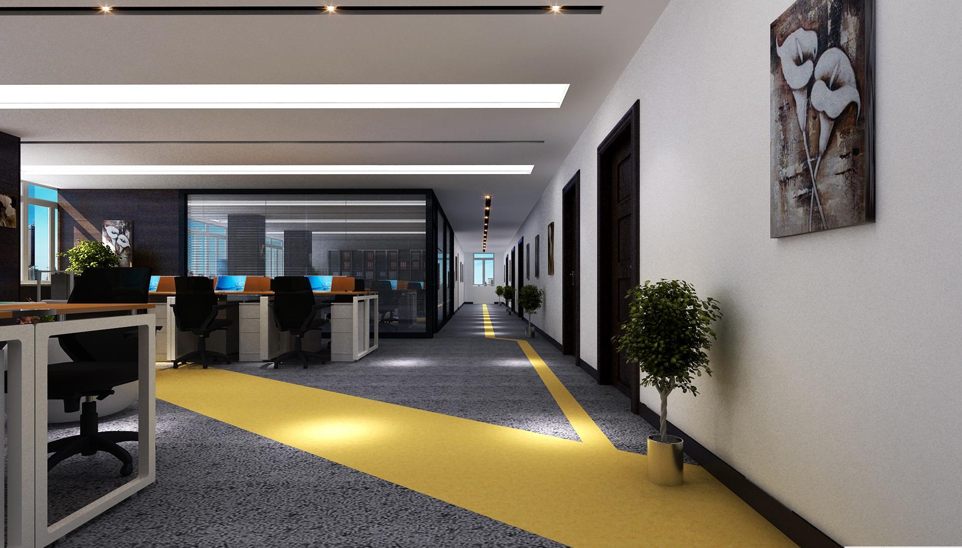 黄金大厦办公室装修效果图