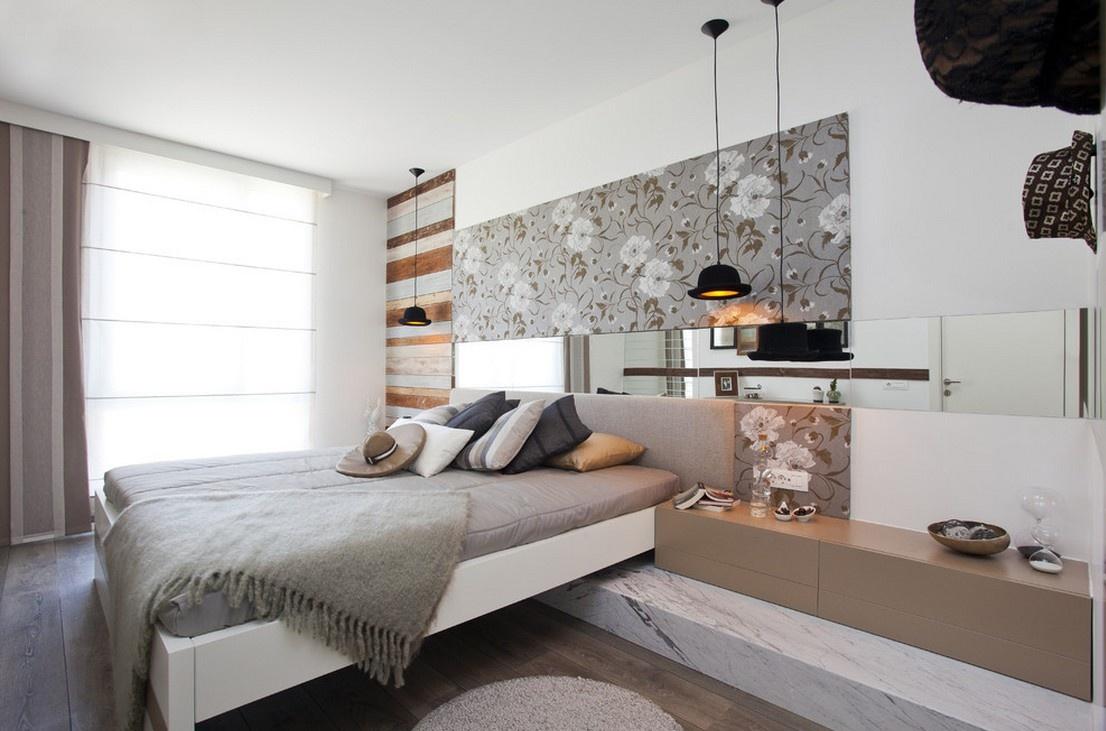 卧室背景墙装修效果图大全_装修之家装修效果图