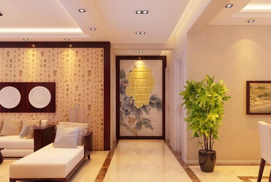 简中式客厅装修效果图图片欣赏下载