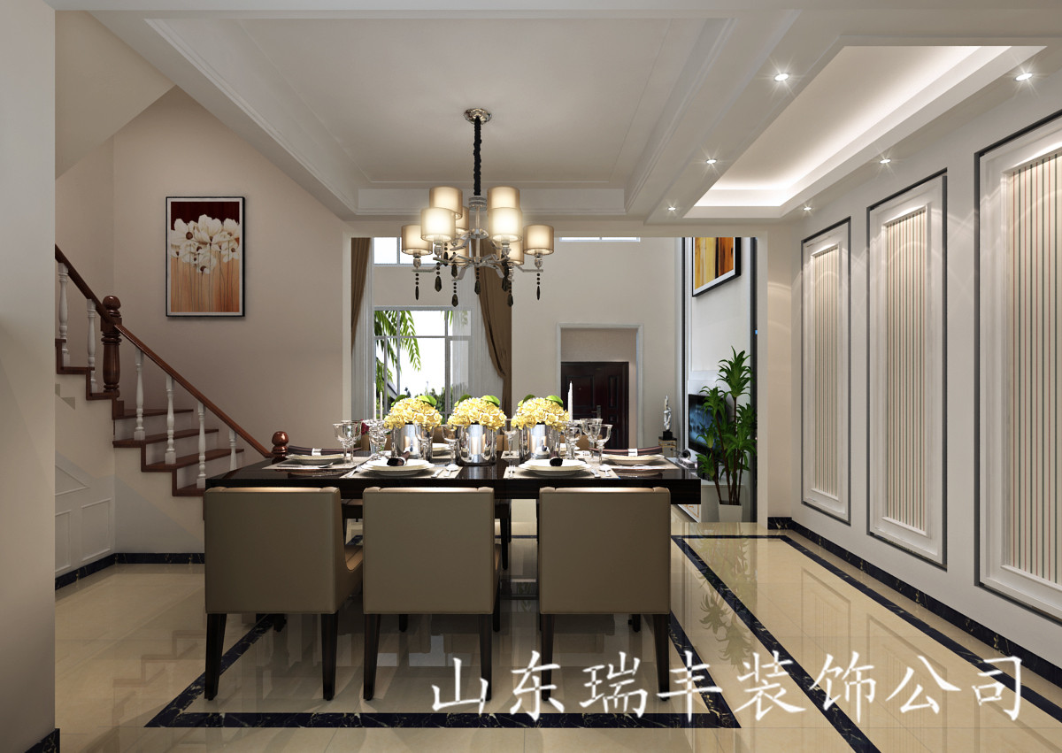 龙园别墅设计图_装修案例图_济南装修之家装修效果图
