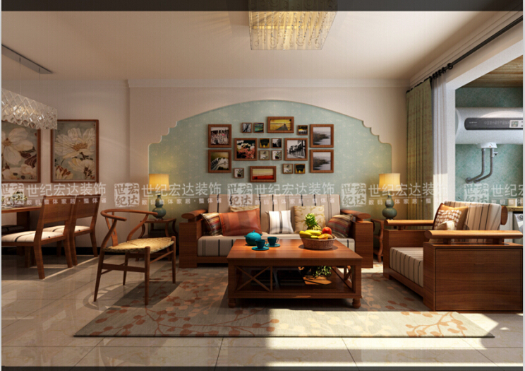 顶面的处理,电路改造,吊顶造型,客厅影视墙造型,餐厅背景墙造型,入户