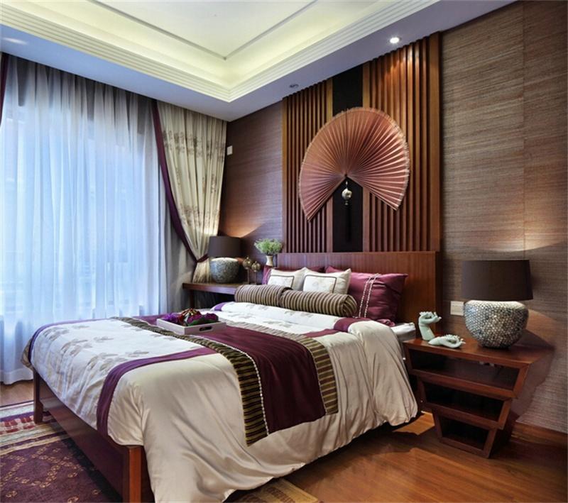航天首府东南亚风格卧室设计