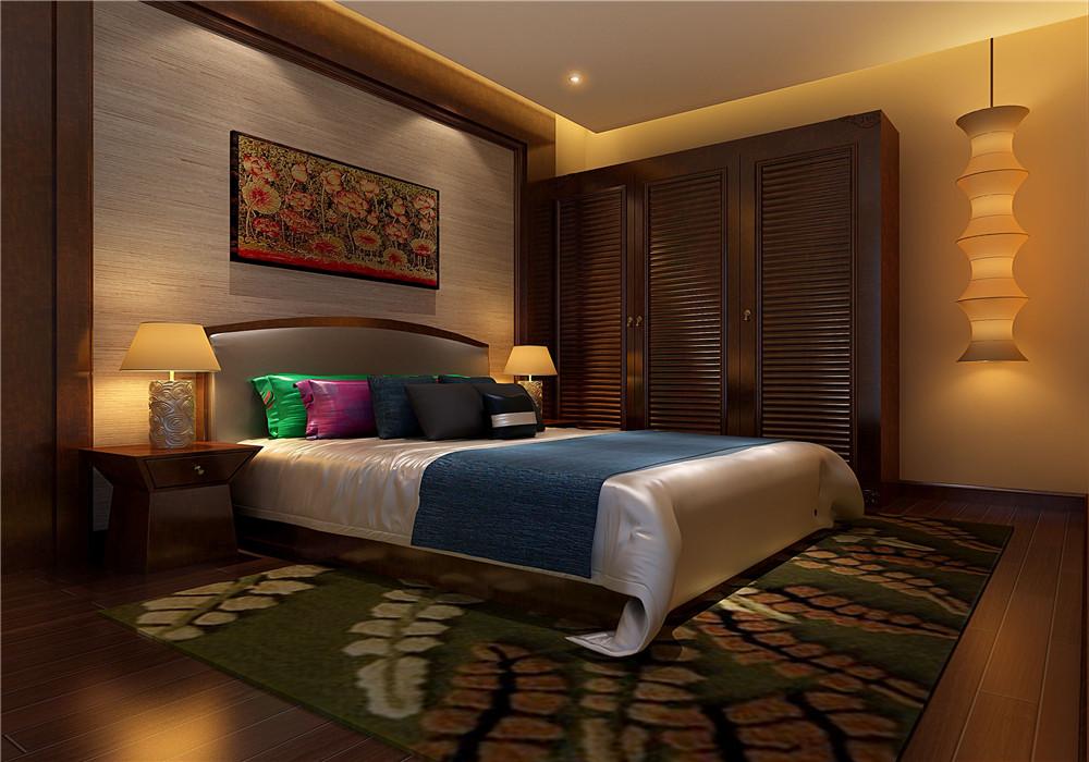 东南亚卧室-一品中央