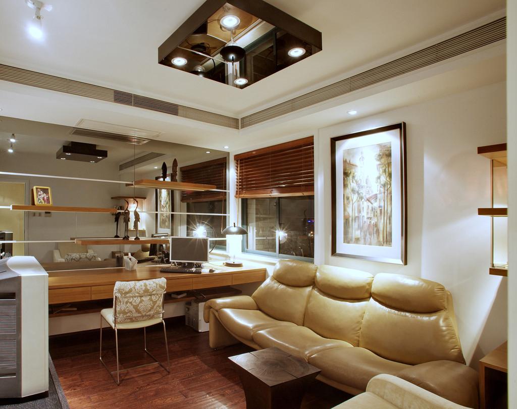 紫金花园白色现代简约住宅装修
