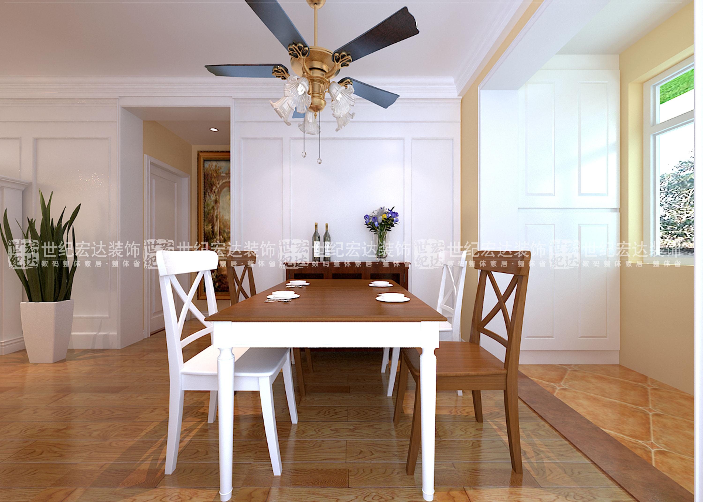 110平米三室一廳裝修效美式