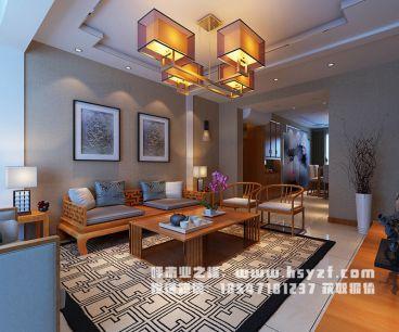 第五大道144平新中式住宅装修