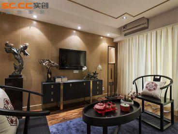 尚东国际149平新中式四居室装修