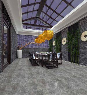 新中式风格餐饮空间设计