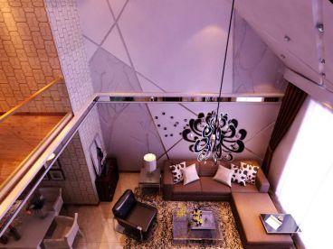 加州华府复式住宅180平简约风格装修