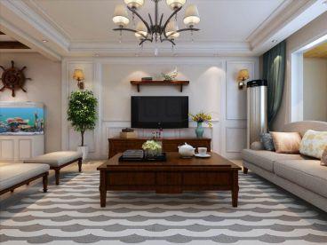北城国际简欧风格三居室住宅装潢