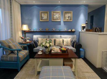 地中海风格-120平米三居室住宅装修