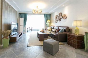 绿都紫金华庭中式风格全包住宅装修
