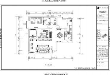 昆明五华区简约风格三居室装修效果图