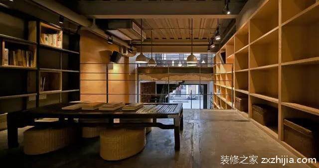 上海半层书店纯设计二室零厅装修效果图
