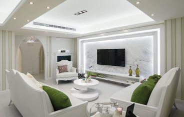 中国铁建国际城现代简欧风格三居室装修