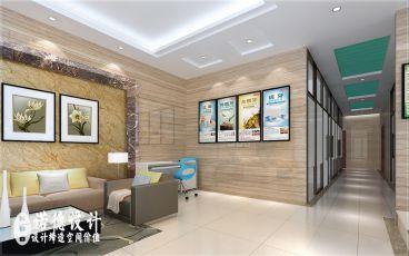 华南城口腔诊所简约风格设计