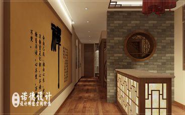 开封禅意茶艺会所中式风格设计
