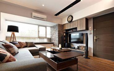 郡原相江公寓现代简约90平全包家装