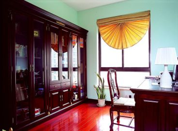 中原新城中式风格三居室家装