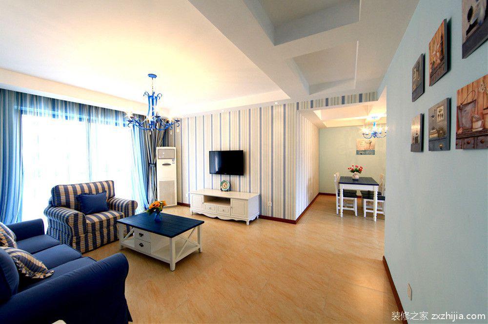 鲁能星城地中海风格全包住宅装潢