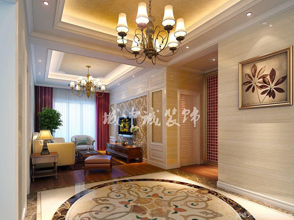 郡域豪庭欧式古典风格半包别墅装潢