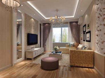 华润考拉简约风格半包两居室装潢