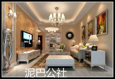 东澜岸简欧风格半包住宅装潢