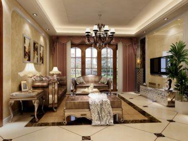 和平时光欧式古典风格半包住宅家装