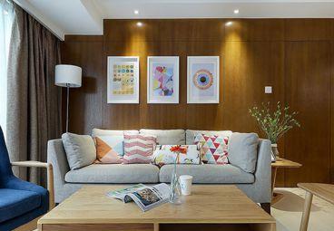 绿地之窗-时尚简约风格117平公寓装修