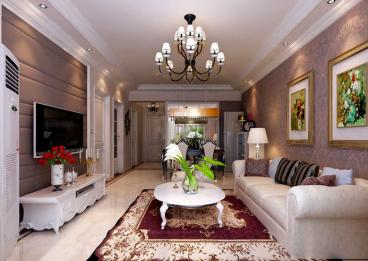 东盟森林欧式古典风格全包三居室装修