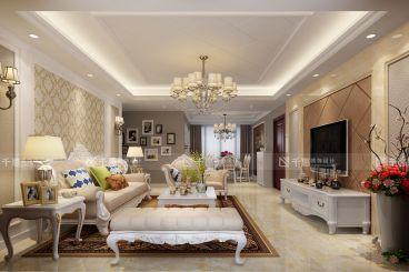 明天华城欧式风格半包公寓装潢