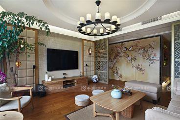常发豪庭国际 180平米时尚混搭风格装修