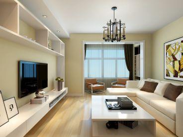 世纪新城72平简约风格家装设计