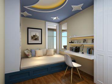 万科星园68平地中海风格家装案例