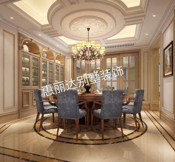 太湖锦绣园美式风格半包别墅装修